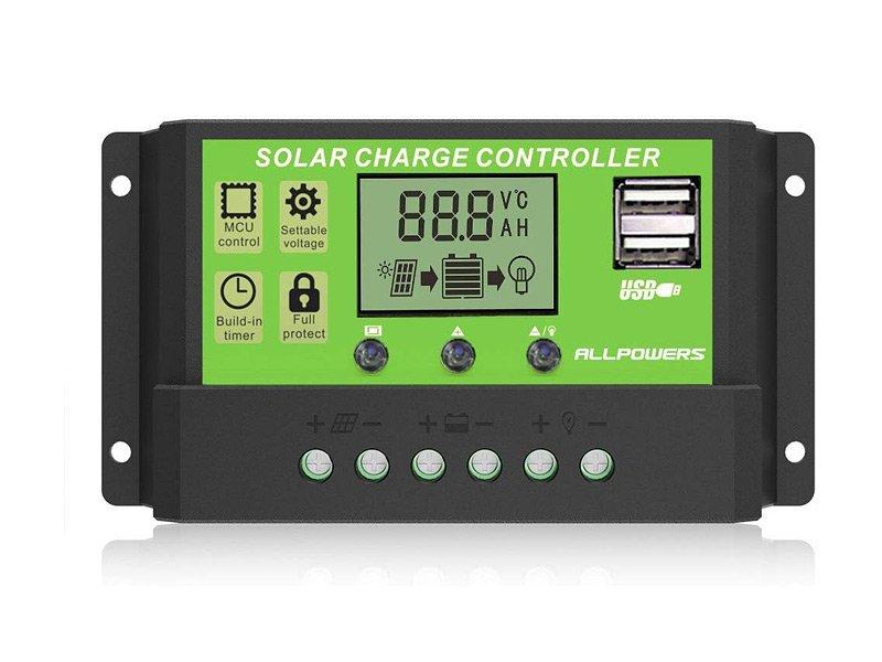 Allpowers Solar Ladegerät 20A