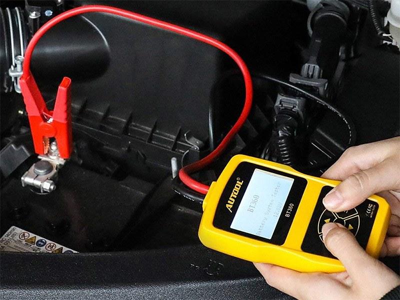 Direkter Anschluss an Ihre Autobatterie