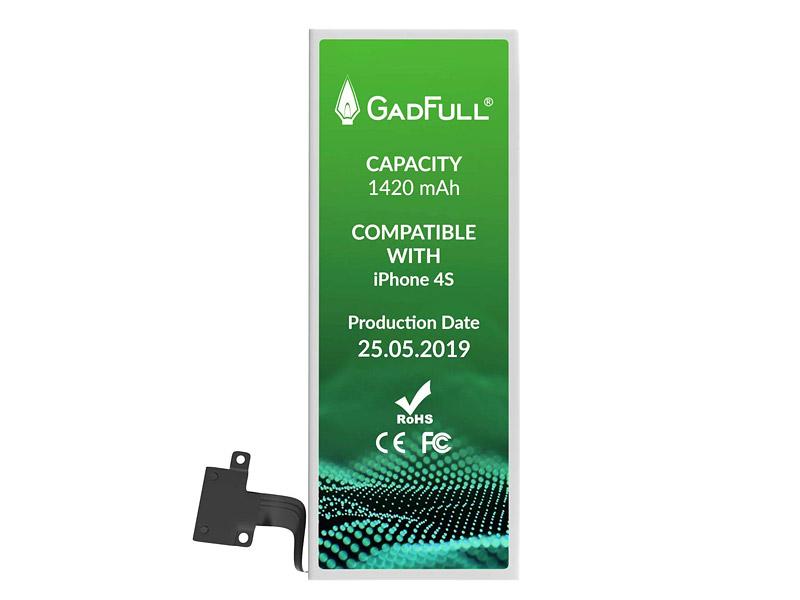 GadFull Akku für iPhone 4S