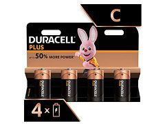 Duracell Type C (x4)