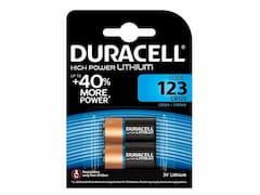 Duracell CR123 (x2)