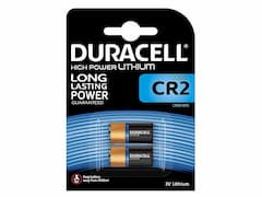 Duracell CR2 battery (x2)