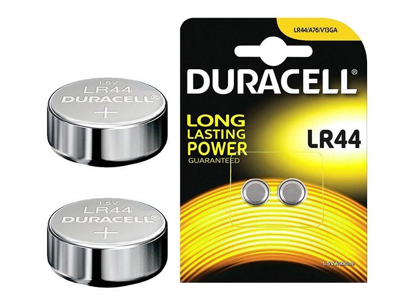 Erhältlich in 4 Packungen mit je 2 LR44-Batterien