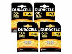 Duracell LR44 batteries (x8)