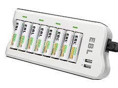 EBL 8 Bay charger