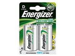 Energizer rechargeable D (x2)