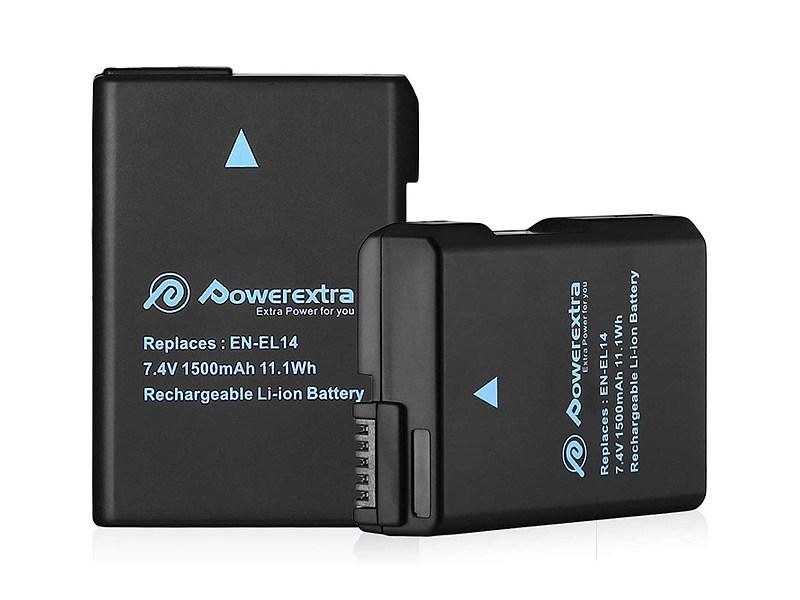 Powerextra Nikon EN-EL14 Batterie