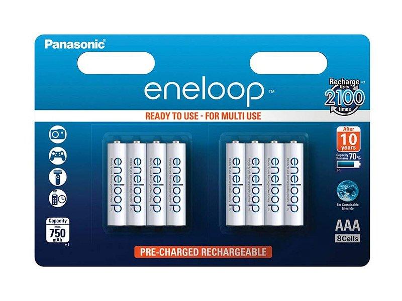 Panasonic Eneloop AAA 750mAh