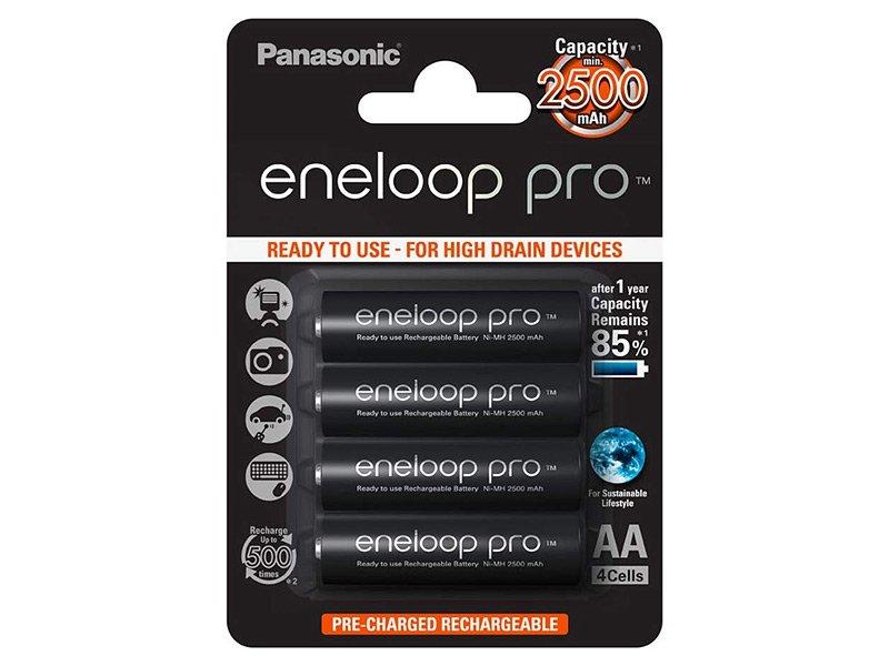 Panasonic Eneloop Pro AA 2500mAh