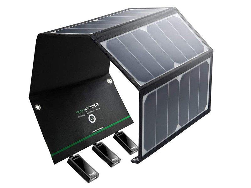 RAVPower 24W Solar Ladegerät
