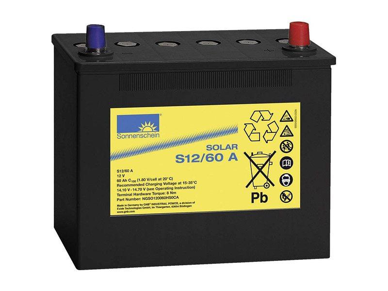 Sonnenschein S12/60A Gel Batterie