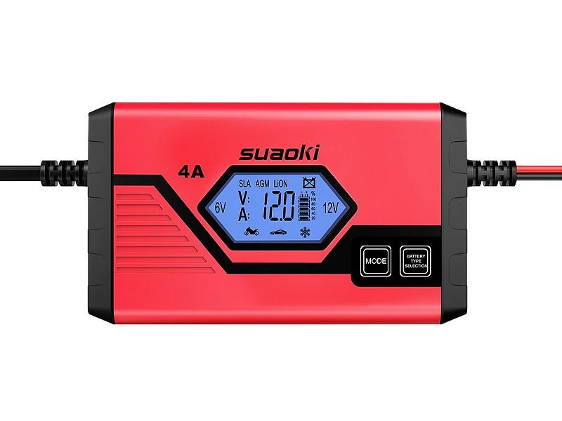 Suaoki 4A Batterie Ladegerät