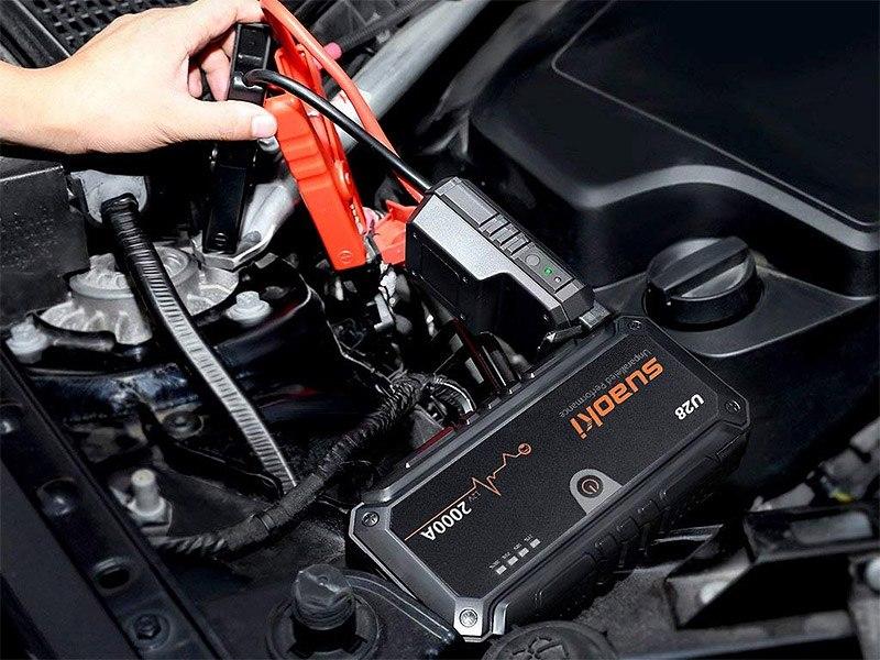 Verstärken Sie Ihre Batterie mit einem Boost.