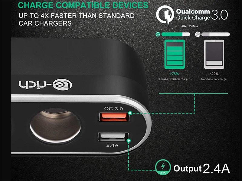 Qualcomm Quick Charge 3.0 kompatibel